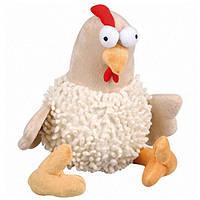 Karlie-Flamingo (Карли-Фламинго) CHICKEN BIG мягкая игрушка для собак курица с пищалкой, плюш