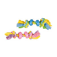 Karlie-Flamingo (Карли-Фламинго) PUPPY JERRY игрушка для щенков, кость веревочная с 2 узлами