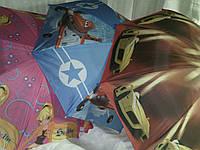 Маленький детский зонт с мультфильмами, фото 1