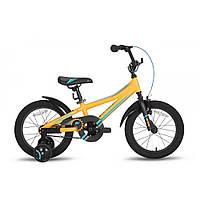 """Велосипед 16"""" PRIDE ARTHUR оранжевый матовый 2016, фото 1"""