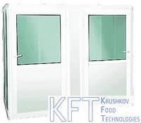 Шкаф предварительной расстойки на 2 тележки