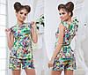 Женский летний костюм в пяти расцветках  , фото 4