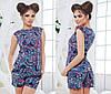 Женский летний костюм в пяти расцветках  , фото 6