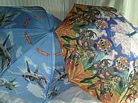 Большой детский зонт с мультфильмами