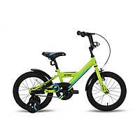 """Велосипед 16"""" PRIDE FLASH зеленый матовый 2016"""