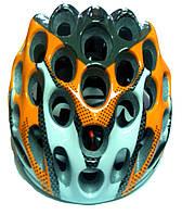 Шлем для велосипедистов (оранжевый)