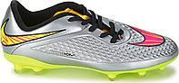 Детские футбольные бутсы Nike Hypervenom PHELON PREM FG 677589-069 JR