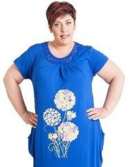 Платье туника большого размера продажа в интернет магазине