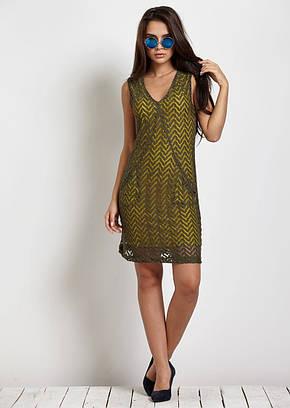 Платье женское Jimmy Key JK 1204123 LALASA DNT KHAKI