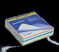 Buromax Блок бумаги для заметок 80*80мм 200л, Микс, не клееный Арт. ВМ. 2255