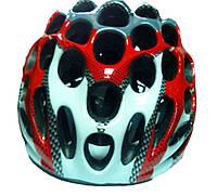 Шлем защитный для велосипедистов (красный)