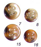 Пуговицы швейная фурнитура диаметр 18мм и 15мм