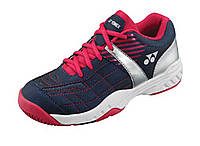 Детские кроссовки для тенниса Yonex SHT-PRO Junior Navy Blue