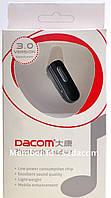 Bluetooth (блютуз) гарнитура Dacom B66. Диапазон - 10 метров. Аккумуляторная зарядка от USB., фото 1