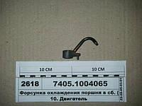 Форсунка охлаждения поршня в сб. (пр-во КАМАЗ), 7405.1004065