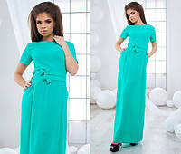Шикарные платья в пол с поясом
