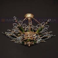 Люстра хрустальная припотолочная IMPERIA девятиламповая LUX-352226