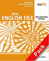 New English File Upper-Intermediate Workbook with  Answer Booklet and MultiROM Pack (рабочая тетрадь)