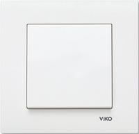 Выключатель 1 клавшный белый VI-KO KARE