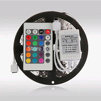 Лента светодиодная RGB 5050 IP33 +пульт+контроллер