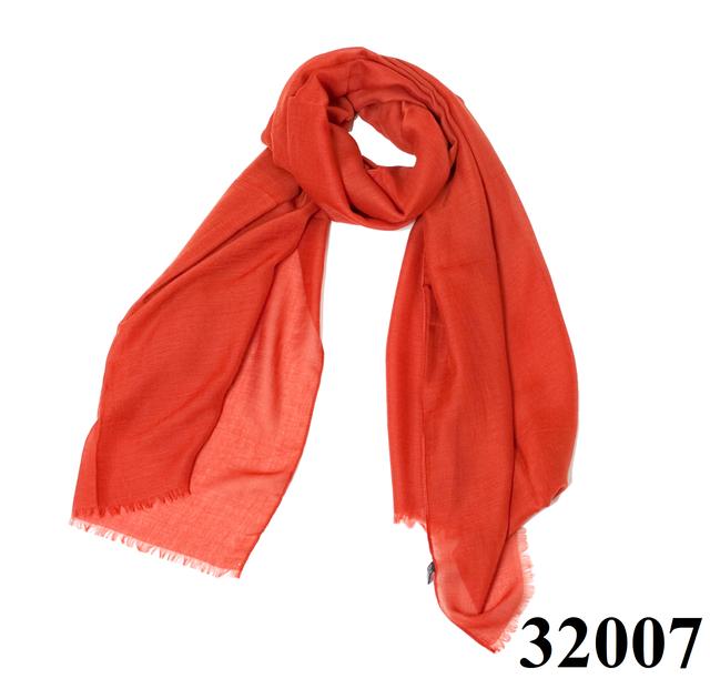 Женский рубиново-красный шарф Легкий бриз 1