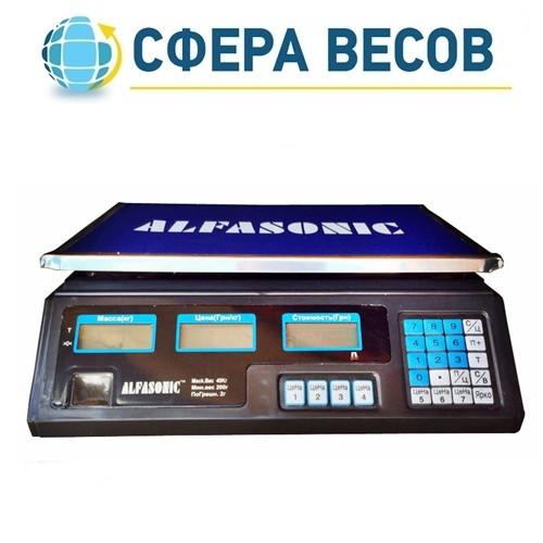 Весы торговые Alfasonic (40 кг)