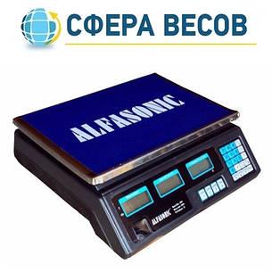 Весы торговые Alfasonic (40 кг), фото 2
