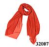 Женский рубиново-красный шарф Легкий бриз