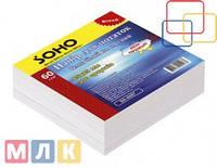 Soho Блок бумаги для записей, 85мм*85 мм, 300 листов, не клееный, белый