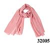 Женский бледно-розовый шарф Легкий бриз