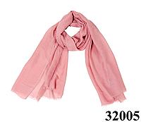 Женский бледно-розовый шарф Легкий бриз, фото 1