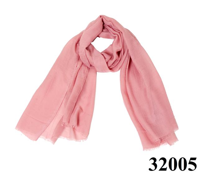 Женский бледно-розовый шарф Легкий бриз 1