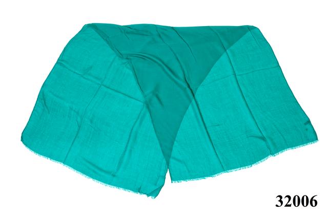 Женский бирюзовый шарф Легкий бриз 3