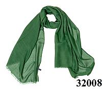 Купить женский зеленый шарф Легкий бриз