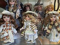 Коллекционные фарфоровые куклы 20см на выбор-отличный подарок, фото 1