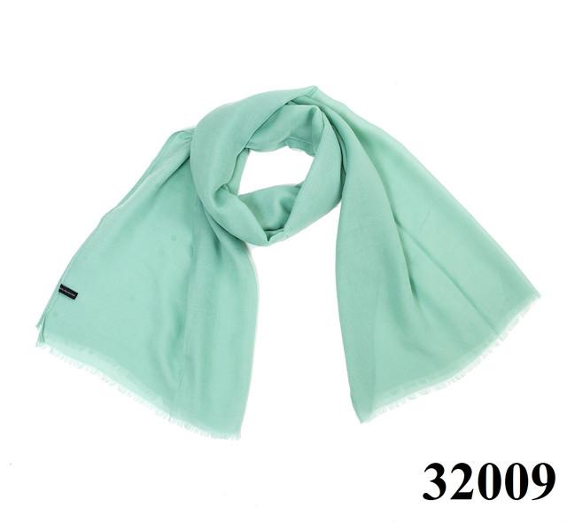 Женский мятный шарф Легкий бриз 1