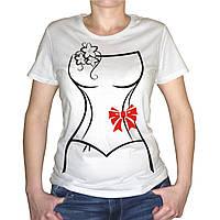 """Женская футболка """"Платье невесты"""""""