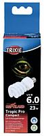 Лампа Тропик Про Компакт 6.0  - Компактная лампа УФ-В спектра для  террариума / 23вт, 60х152мм