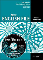 New English File Advanced Teacher's Book with Test and Assessment CD-ROM (книга для учителя с диском)