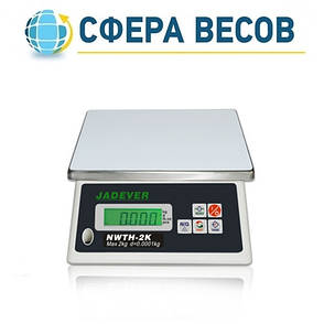 Весы фасовочные Jadever NWTH-K (20 кг), фото 2