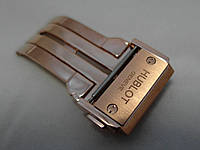 Застежка к часам Hublot LUX золотистая стальная