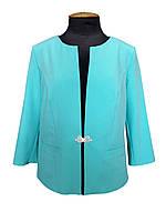 Женский летний пиджак Моника до 58 размера, фото 1