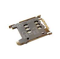 Коннектор SIM Nokia 302 Asha, 500 701 C2-05, C7-00, E6-00, N8-00 (copy)