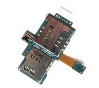 Коннектор SIM Samsung I9000 с коннектором карты памяти оригинальный