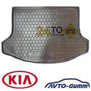🚘 Коврик в багажник для KIA Sportage lll (2010-...) (Avto-Gumm), Киа Спортейдж