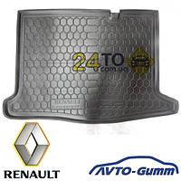 Коврик в багажник для RENAULT Sandero (2013-...) (Avto-Gumm), Рено Сандеро