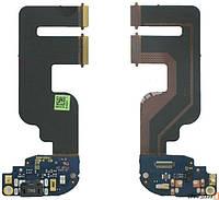 Шлейф HTC One mini 2 с разъемом USB и микрофоном оригинальный
