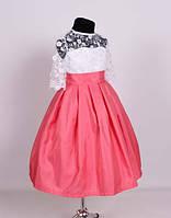 Детское нарядное праздничное летнее платье на 2-4 года.