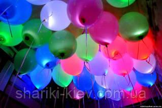 Светящиеся шарики с разноцветными светодиодами