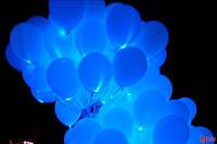 Светодиодные шарики синие